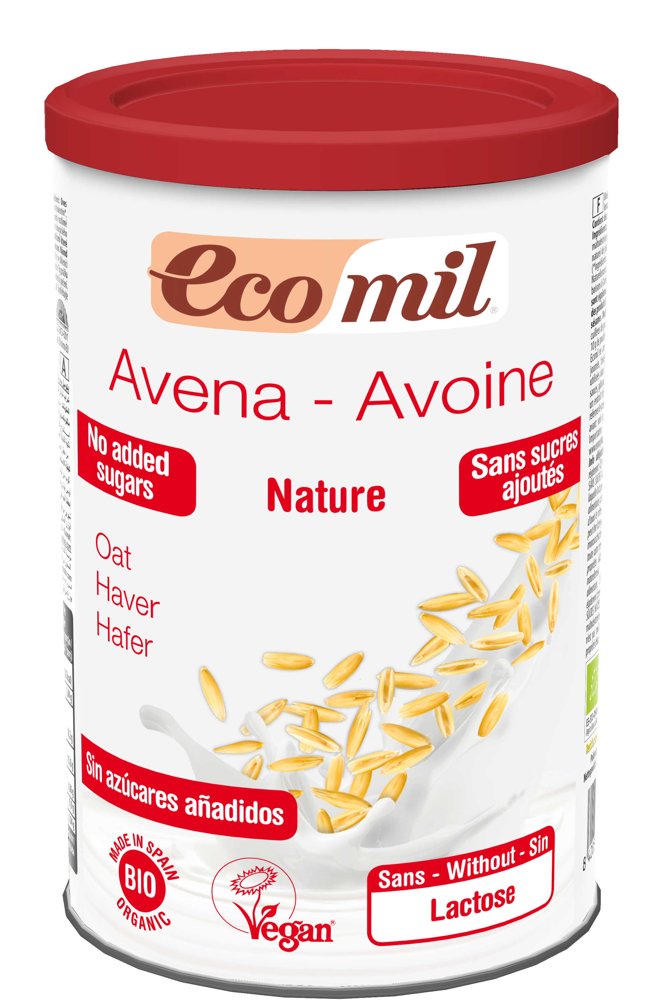 EcoMil Oat drink Instant Bio 400 g