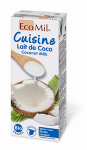 Lait de coco du Sri Lanka en Tétra Pak Bio  330ml Direct producteurs Fruit