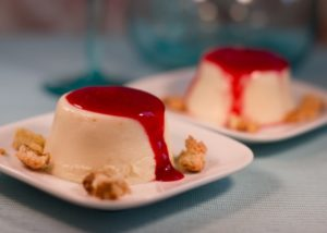 Vegan Panna Cotta with almond cream Ecomil