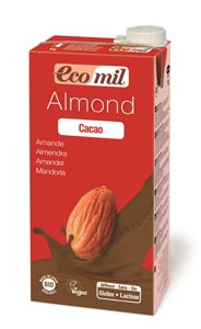 Almond milk with .agave and cacao 1L